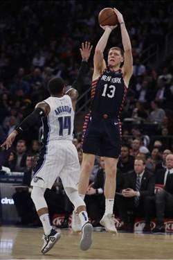 NBA》先發太爛了 尼克靠替補逆轉幹掉魔術