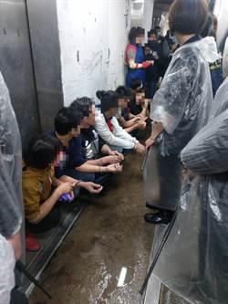 北市萬華屠宰場僱私工  移民署一舉查獲22名逃逸移工