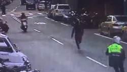 影》偷渡客遇警狂奔 警使「洪荒之力」追2公里逮捕