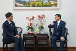 陸委會副主委拜會 新竹縣長楊文科憂心兩岸關係