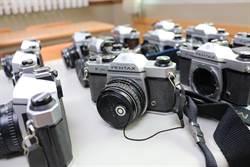 百餘台底片老相機 再耕園3月2日義賣