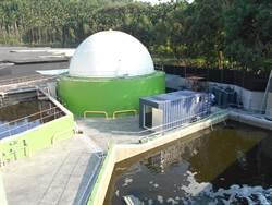 全台首座MIT「二階段高效厭氣發酵技術」沼氣發電併聯運轉