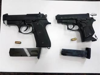 安平槍擊案2嫌帶槍投案 供稱口角糾紛行凶