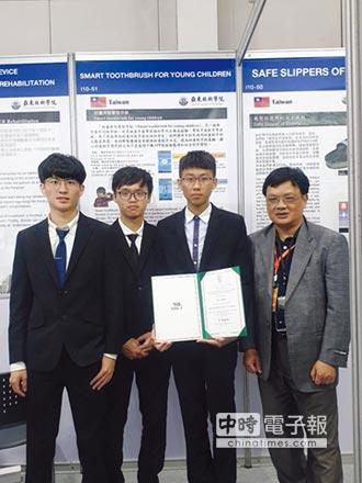 亞東技術學院 獲泰發明展銀牌
