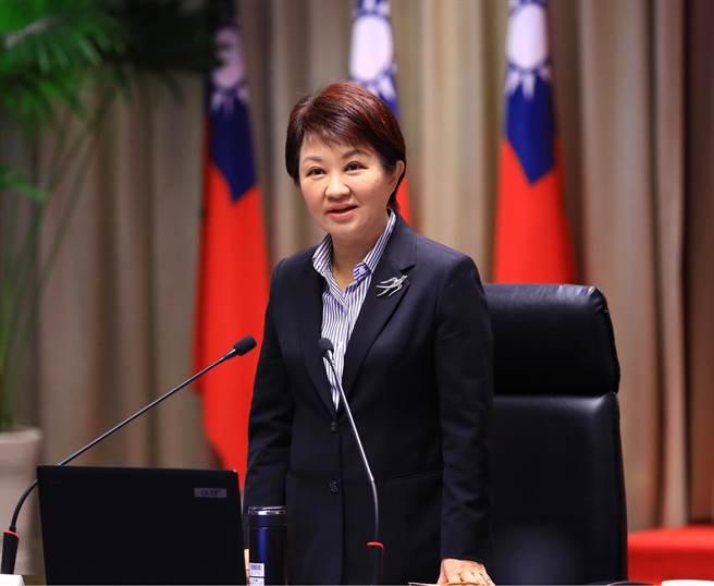 台中市長盧秀燕表示,全面降低職災風險,市府將成立降災小組,應全力往「零事故、零職災」目標前進。(盧金足攝)