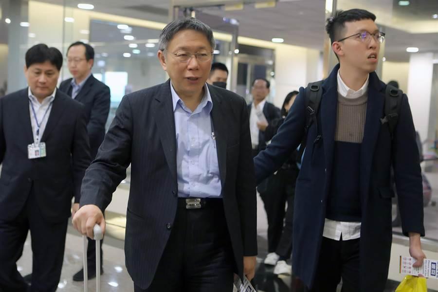 台北市長柯文哲。(資料照,陳麒全攝)