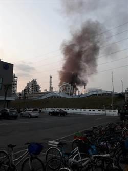 影》高雄林園台石化廠區疑鍋爐爆炸起火 4人燒傷送醫