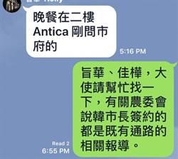 簡訊曝光被懷疑是「東廠」 外交部不滿、鄭重澄清