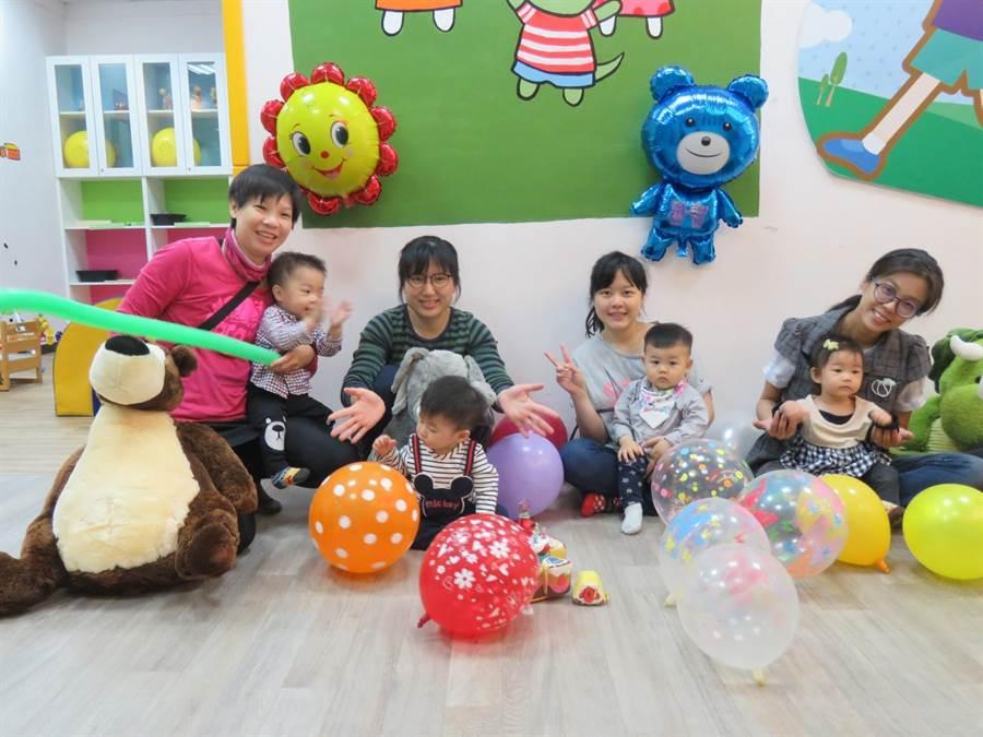 員林托育資源中心有各項免費親子活動。(彰化縣政府提供)