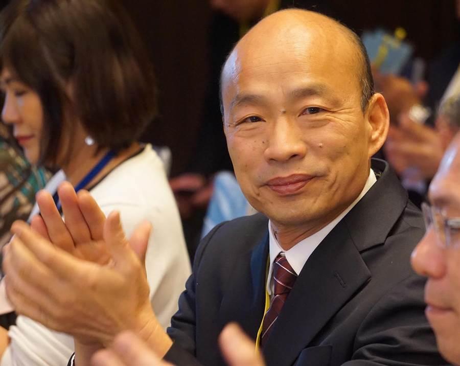 高雄市長韓國瑜。(圖/本報資料照,柯宗緯攝)