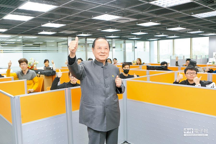 國會政黨聯盟主席妙天認為,兩制台灣方案不同於港澳模式。(本報系記者張鎧乙攝)