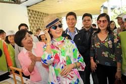 最美麗主持人白嘉莉代言花博  228連假湧入近10萬人