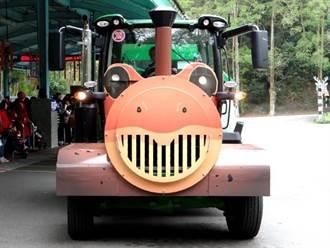 遊動物園新選擇!「穿山甲、箭毒蛙列車」陪你趴趴Go
