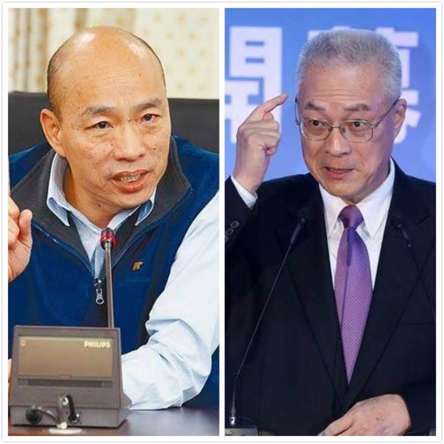 學者施正鋒認為,國民黨初選誰勝出,會牽動韓國瑜是否接受徵召參選。(中時報系資料照片)