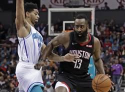 NBA》哈登重回年度MVP榜首 詹皇落居第10