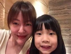 小S女兒許老三換髮型 鏡子反射意外發現「女兒傻瓜」