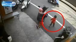 男童失控暴衝馬路害摔車 女騎士怒:大人不用道歉嗎?