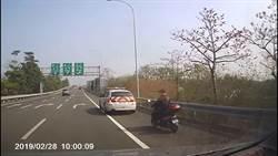 花甲阿北醉醺醺騎車上國道 騎了12公里被警攔查送辦