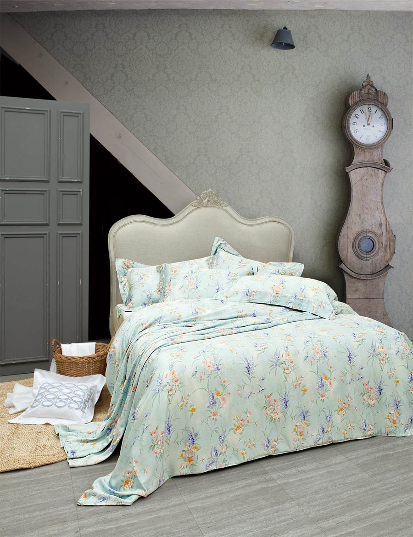 WENTEX Blossom 100%奧地利天絲床組。(La mode提供)
