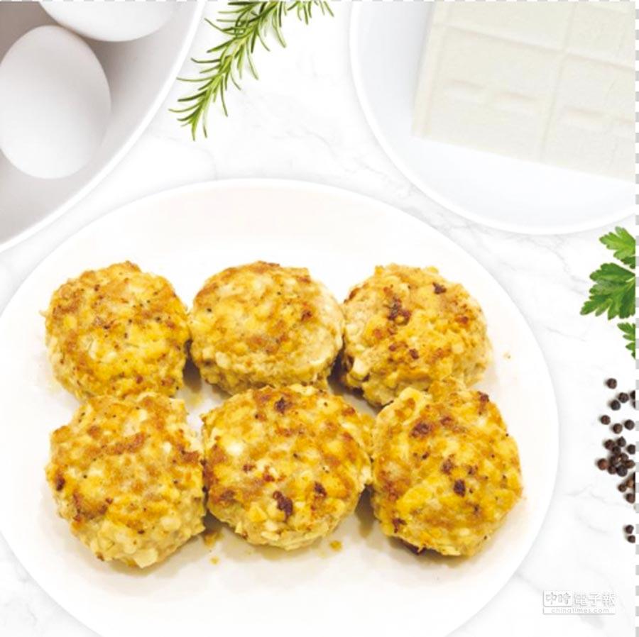 雞肉豆腐排   ◎圖/頂級鍋具提供(全台無毒的家販售)