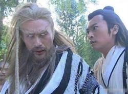 徐錦江當年超敬業!「金毛獅王」全程翻白眼演出