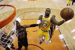 NBA》賭盤看衰湖人 詹姆斯紀錄將終結