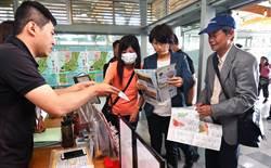提升交通旅遊服務 饒慶視察車站旅遊服務中心
