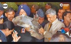 一塊飛彈殘骸 讓台捲入印巴衝突