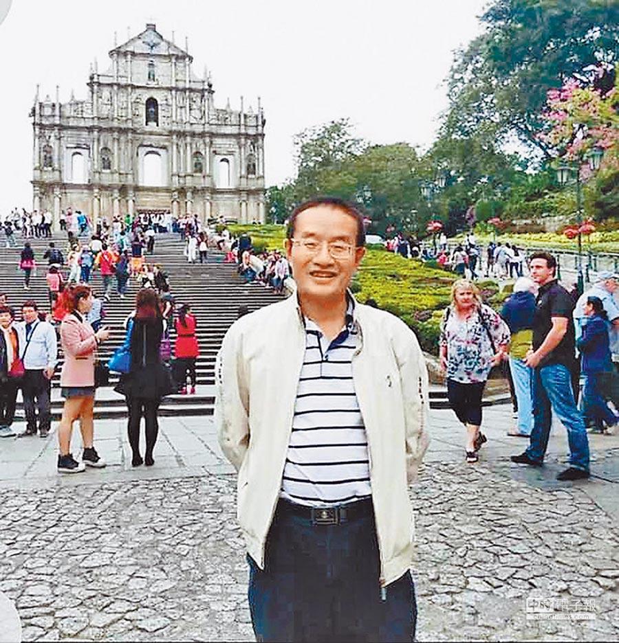 華南師範大學教授傅玉能。(傅玉能提供)