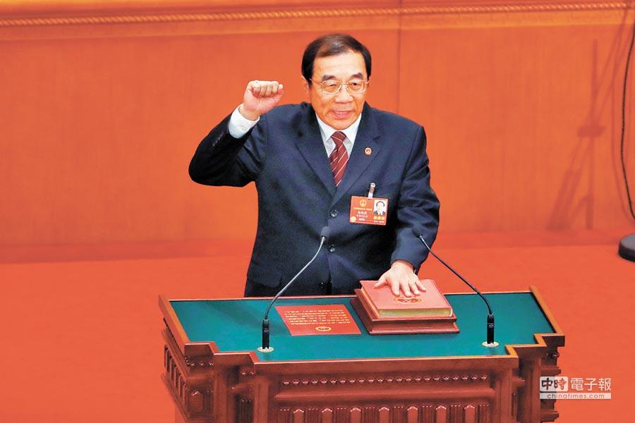 大陸國家監察委員會主任楊曉渡。(中新社資料照片)