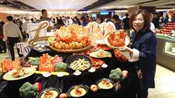飯店美食節超霸氣 推出帝王蟹吃到飽挑戰市場接受度