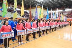 基隆中小學聯合運動會開跑 1300人參戰