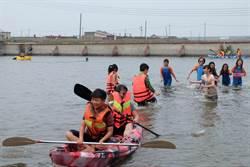 口湖國中「漁塭獨木舟」課程 推廣水域教育大受歡迎
