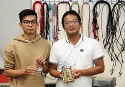 嘉大生研究火龍果 製成染敏化太陽能電池