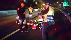 影》搭車去醫院卻墜落幼獅交流道 女疑似被計程車丟包