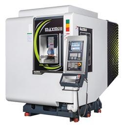 仕元 推出銑車複合加工中心機