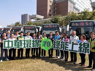 「台南山手線」環狀電動公車上路