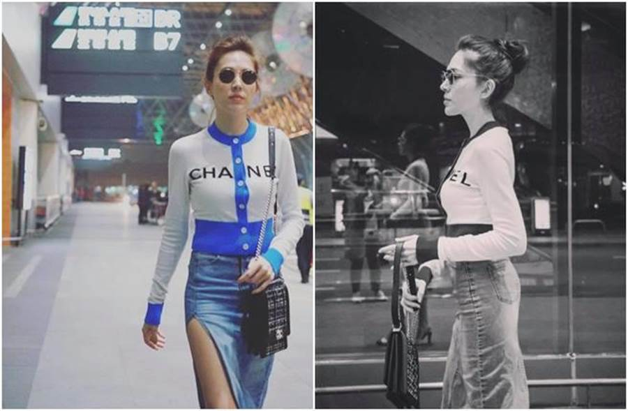 許瑋甯近日受邀到巴黎時裝周。(圖/翻攝自臉書)