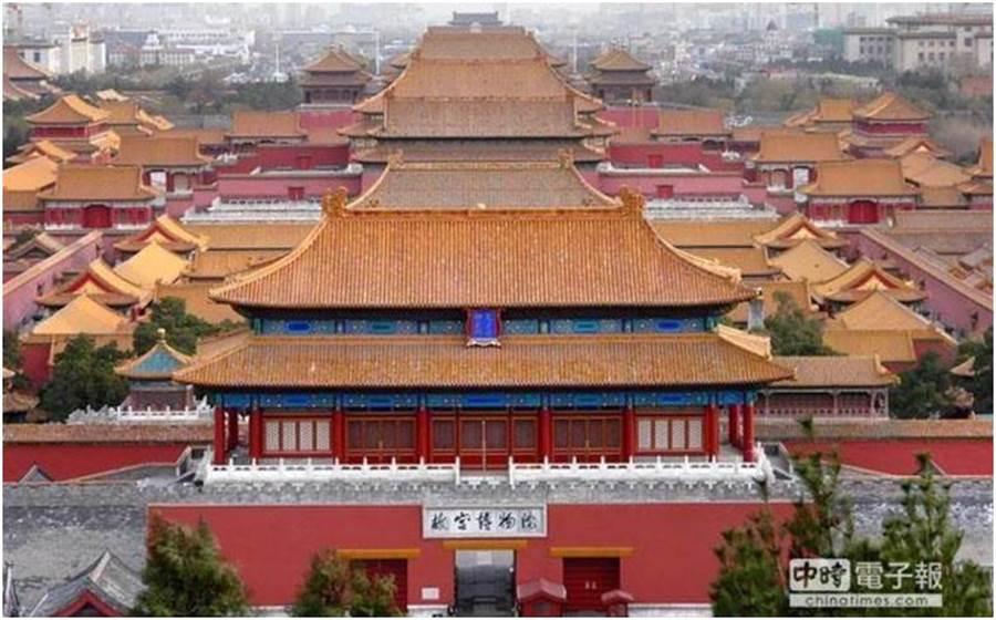 北京故宮博物院。(圖/本報資料照)
