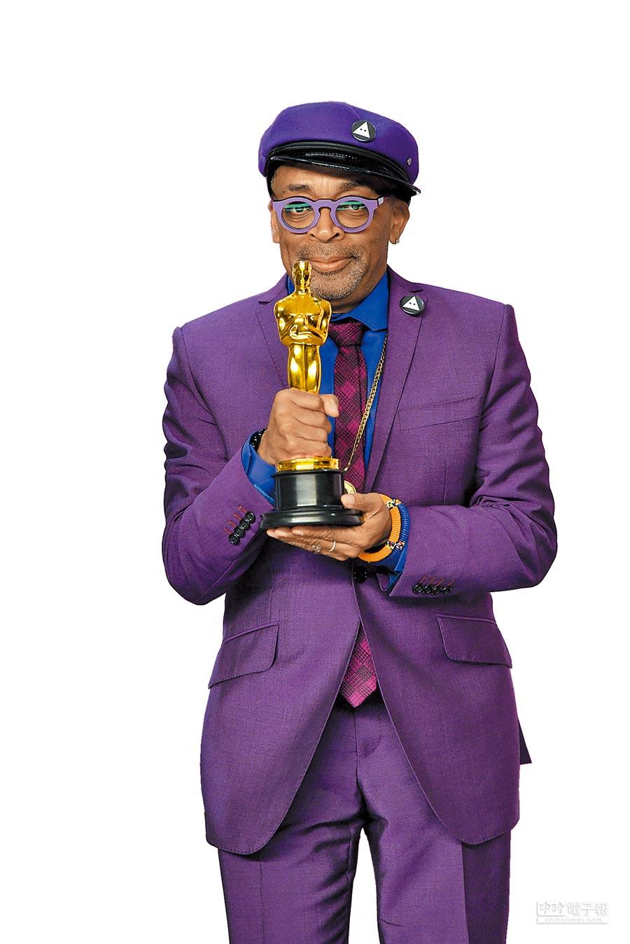 執導COACH短片的史派克李,日前以《黑色黨徒》獲得奧斯卡最佳改編劇本獎。(美聯社)