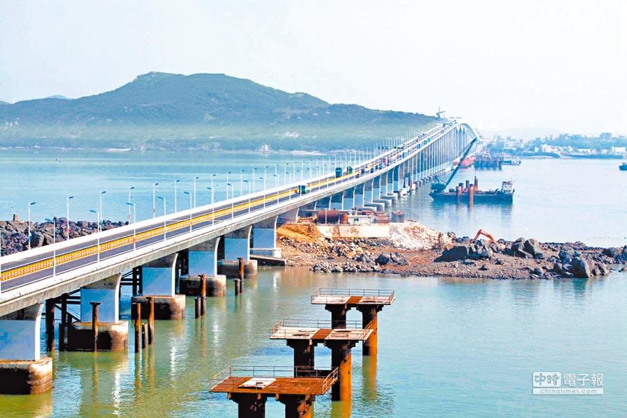 平潭跨海大橋。(中新社資料照片)