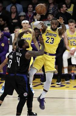 NBA》只剩下1% 湖人想進季後賽變不可能任務