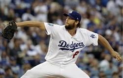 MLB》柯蕭左肩發炎 連8年開幕戰先發恐中斷