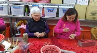 最美風景 參觀千歲團巧手縫媽祖香火袋成熱點