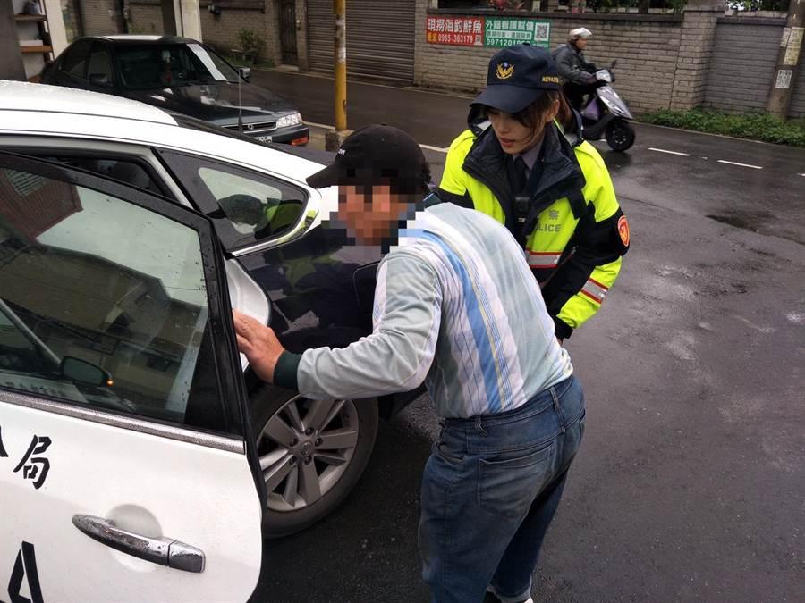 警方最後透過人臉辨識系統,找到宋男住家。(警方提供)