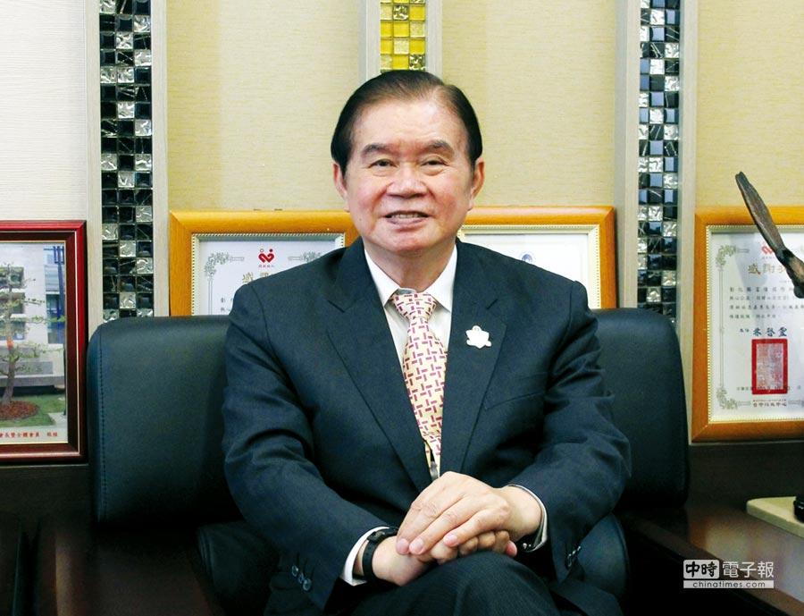 台灣機械公會金屬成型專委會現任會長蕭文龍(富偉科技集團總裁)。圖/陳仁義