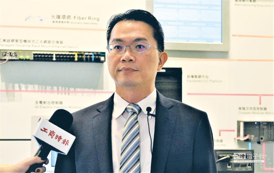 台達機電事業群總經理劉佳容表示,會持續耕耘智慧自動化軟硬體與系統方案,強化研發和市場開發。圖/陳逸格