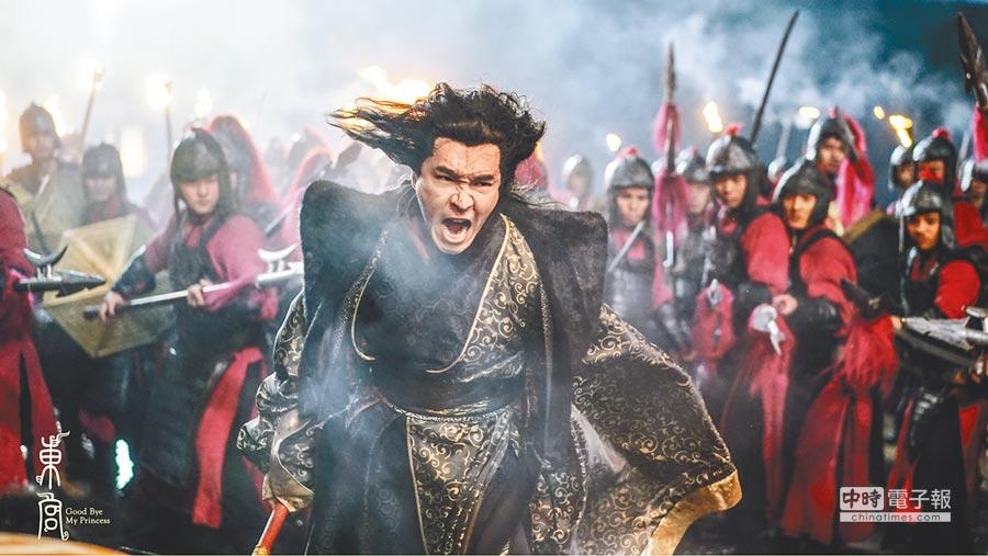 王傳一在《東宮》謀反失敗,最後落入大牢。