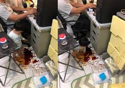 開門見「小孩玩血、老公打電動」讓地方媽媽們想殺人