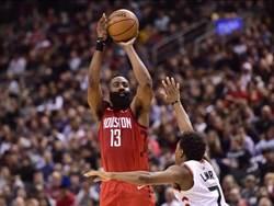 NBA》暴龍遭火箭修理 豪哥僅上場11分鐘2分2助攻